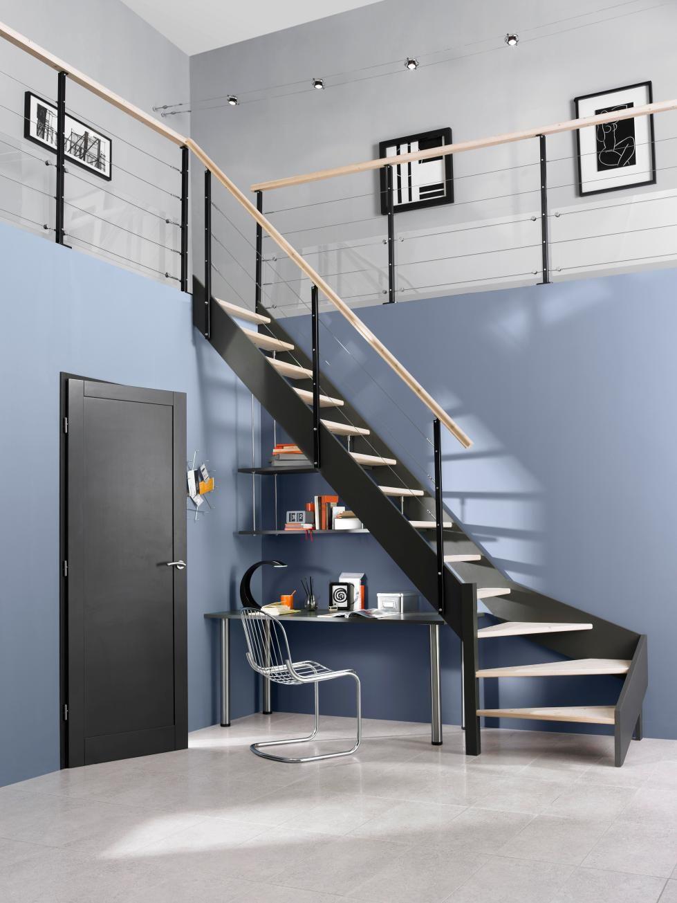 Escalier Loft Avec Rampe Cubik Treppe Wohnung Dessous