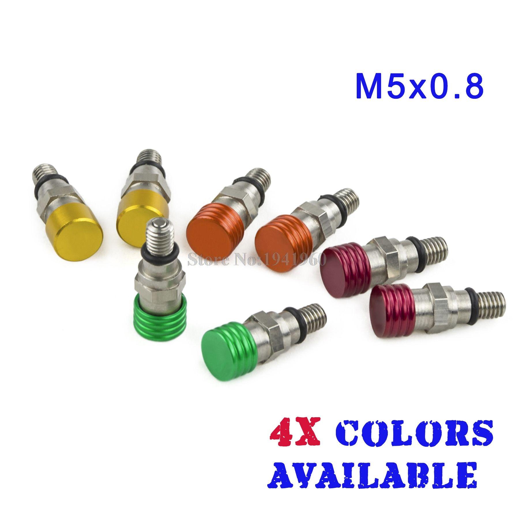 M5x0.8 Fork Air Bleeder Pressure Relief Valves For Honda