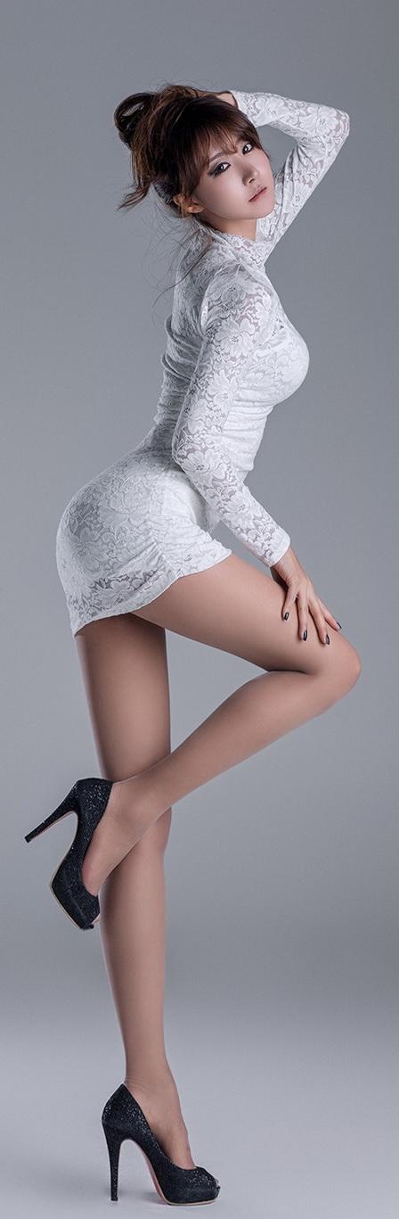 Sexy asian high heels