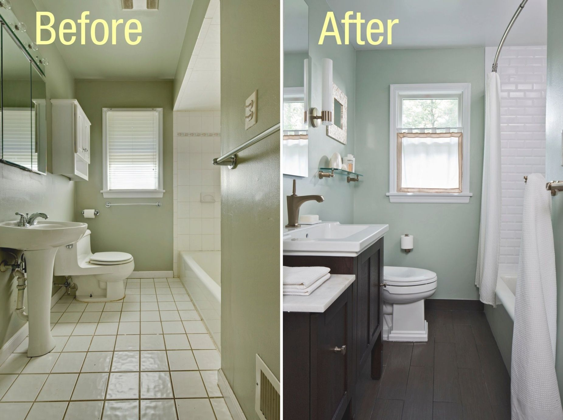 Image Result For Cheap Bathroom Makeover Small Bathroom Renovations Small Bathroom Remodel Bathroom Makeovers On A Budget
