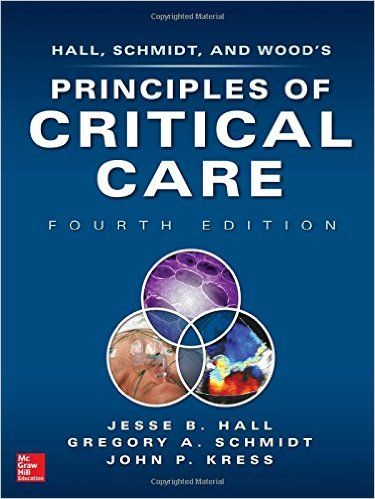 Principles Of Critical Care 4th Edition By Jesse Hall Critical Care Medical Textbooks Medicine Book