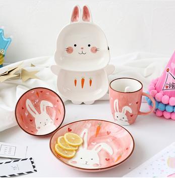 Ceramic Tableware Set Estampas Pascoa