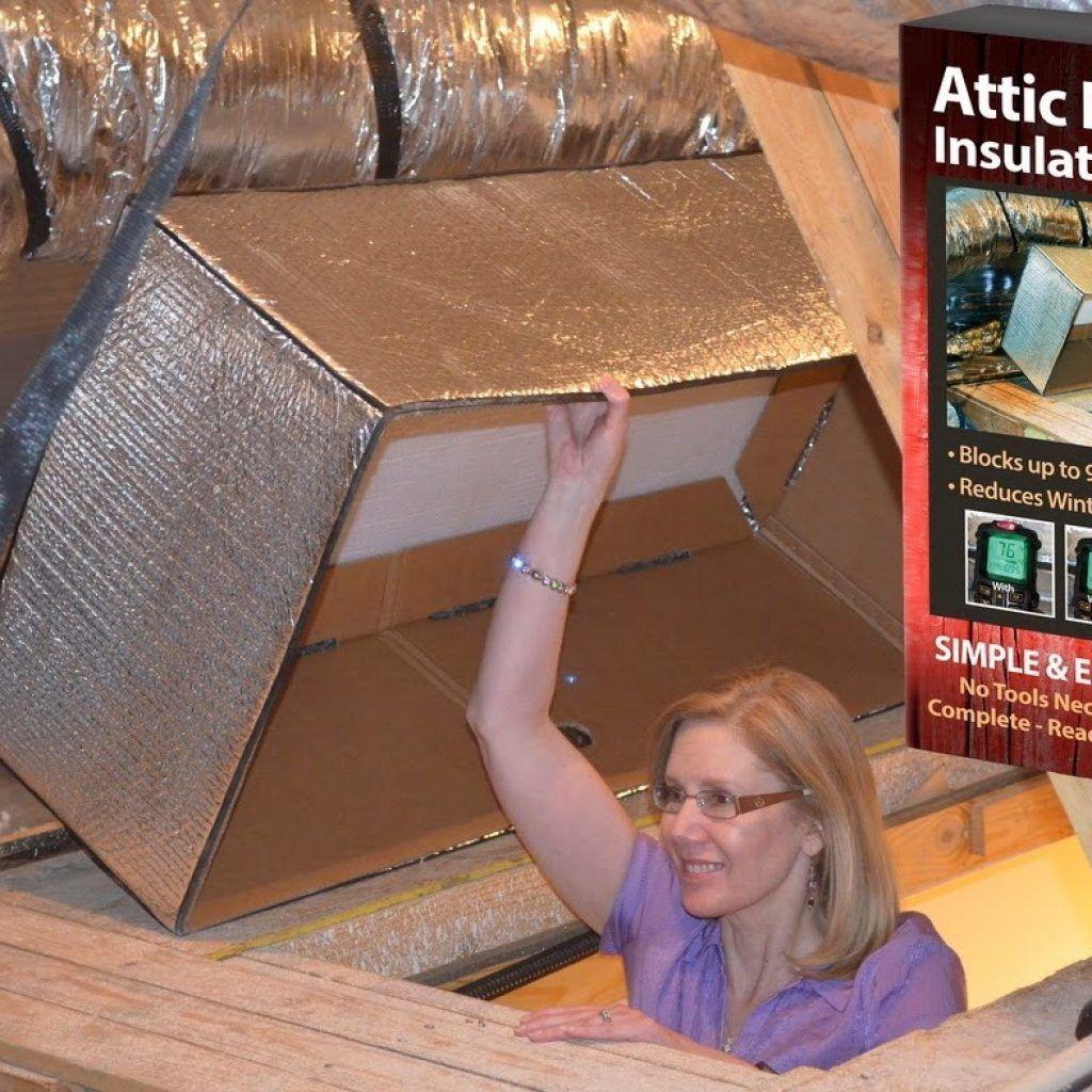 Insulation Box Attic Stairs Attic Door Insulation Stairs Covering Attic Doors