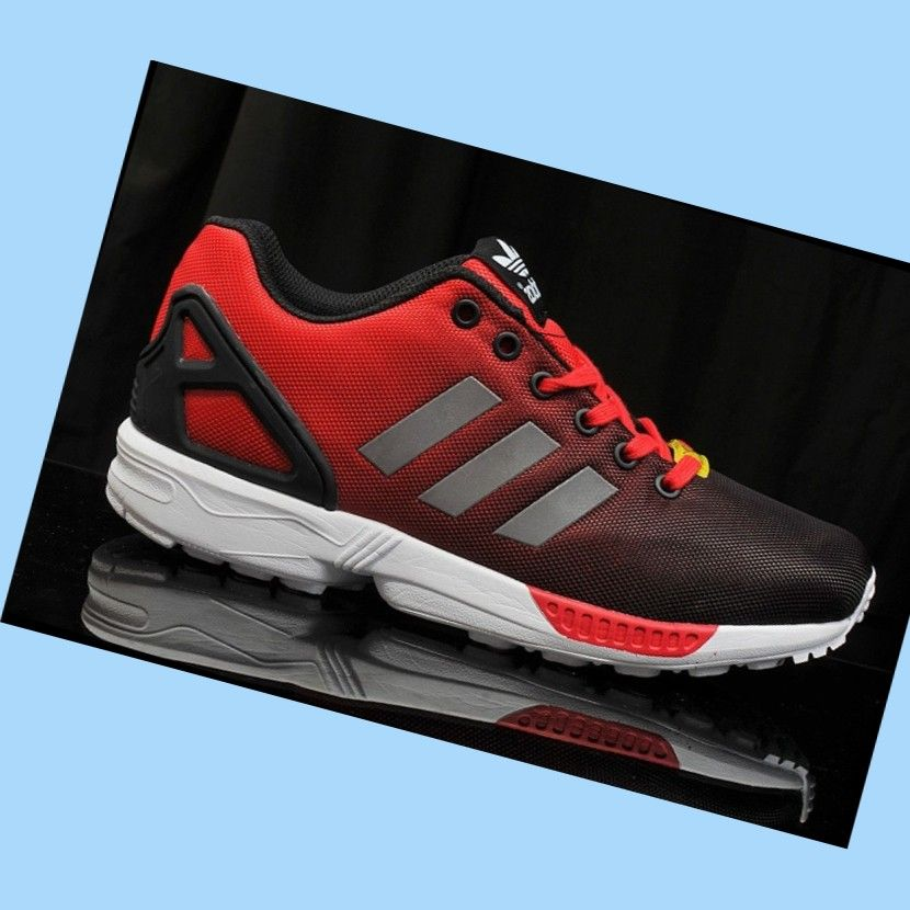 promo code 2a943 94d5c Adidas Originals Zx Flux Women s Sneakers Reflective Tomato-Red,Black,Silver,Grey,White,Stylish  trainers hot sale with 80% off right here.