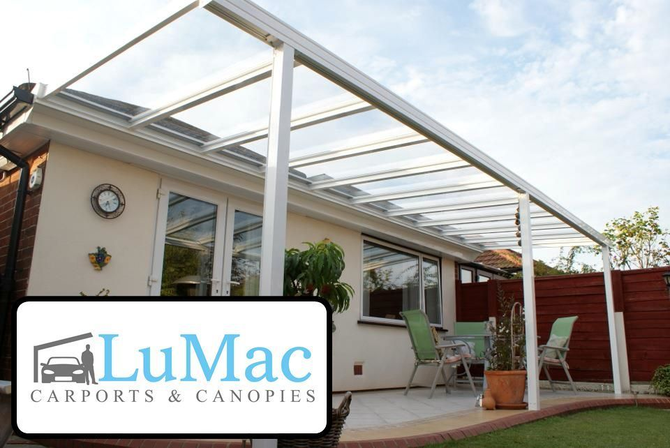 Glass Clear Garden Room Patio Canopy Cover Lean To Awning Garden Pergola Seating Ebay Patio Canopy Canopy Outdoor Carport Patio