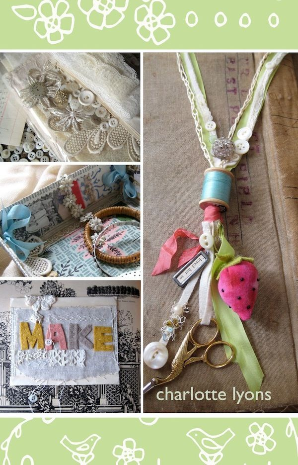 love this lanyard/ necklace... and your embroidery scissors are always at hand.