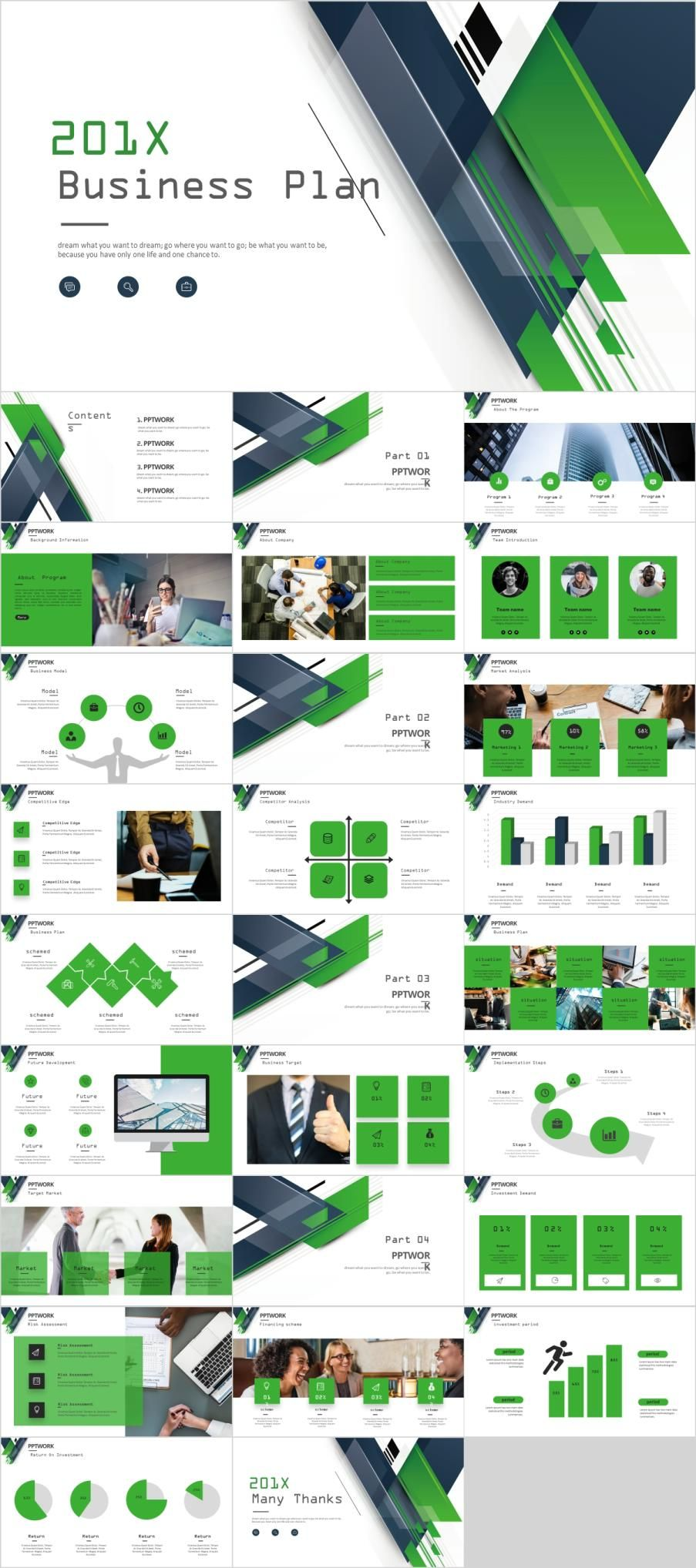 27 Green Business Plan Powerpoint Template Powerpoint Templates Presentation Powerpoint Design Templates Business Powerpoint Templates Powerpoint Templates