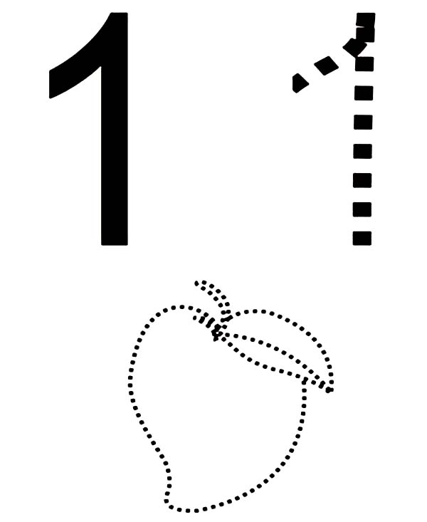Number One And Mango Outline Coloring Page Netart Coloring Pages Cute Coloring Pages Coloring Sheets