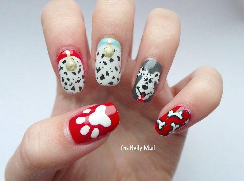 dog Nail Art and Swatches - Nailpolis: Museum of Nail Art | Project ...