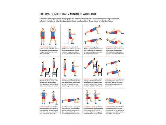 7 minuten workout neue di t wunderwaffe bungen und fitness bungen. Black Bedroom Furniture Sets. Home Design Ideas