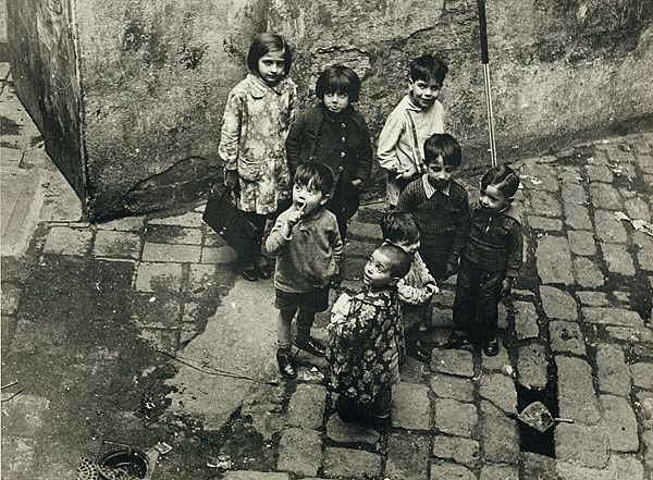 Margaret MICHAELIS Austria 1902 – Australia 1985 Movements: Australia from 1939 Slum children, Barcelona c.1934 gelatin silver photograph (on semi-glossy paper) image 17.0 h x 23.0 w cm  Gift of the estate of Margaret Michaelis-Sachs 1986 Accession No: NGA 86.1384.160