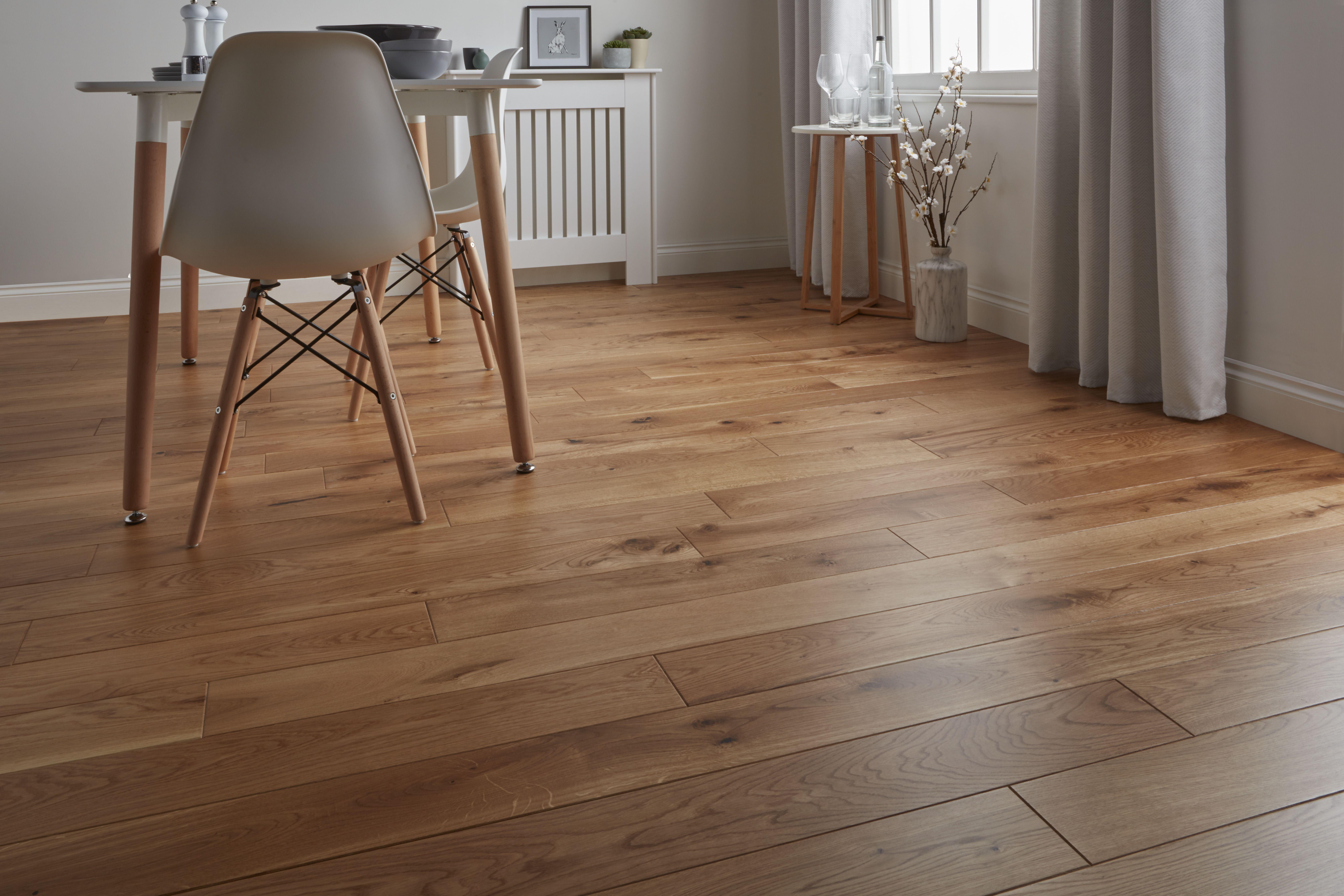 Deska Podlogowa Goodhome Lysekil Dab 1 56 M2 Hardwood Floors Lysekil Hardwood