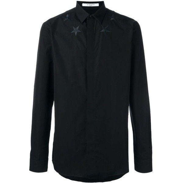 Programmable Shirt Asos Denim Men's Long Sleeve Overdye Geo Embroidery