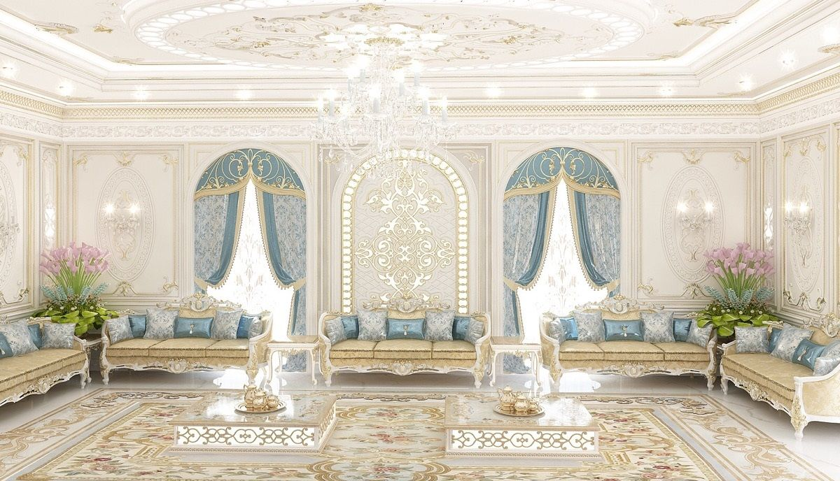 Luxe Interieur Design : Luxe room design this space exudes timeless elegance ☝ perfect