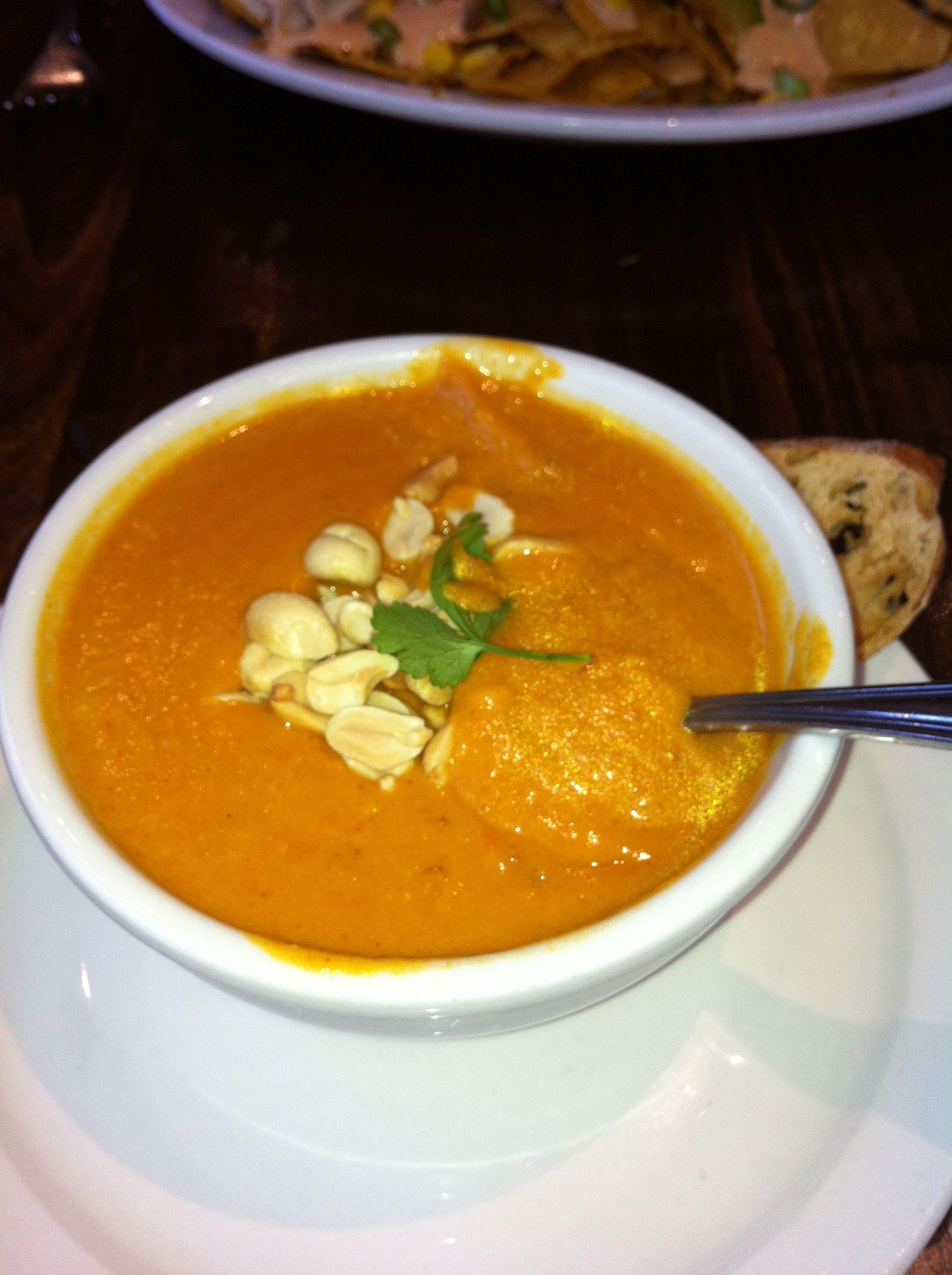 Vegan African peanut soup yummy