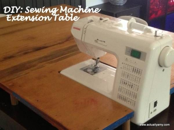 Extension Pour Mac My Home Sewing Machine Tables Sewing