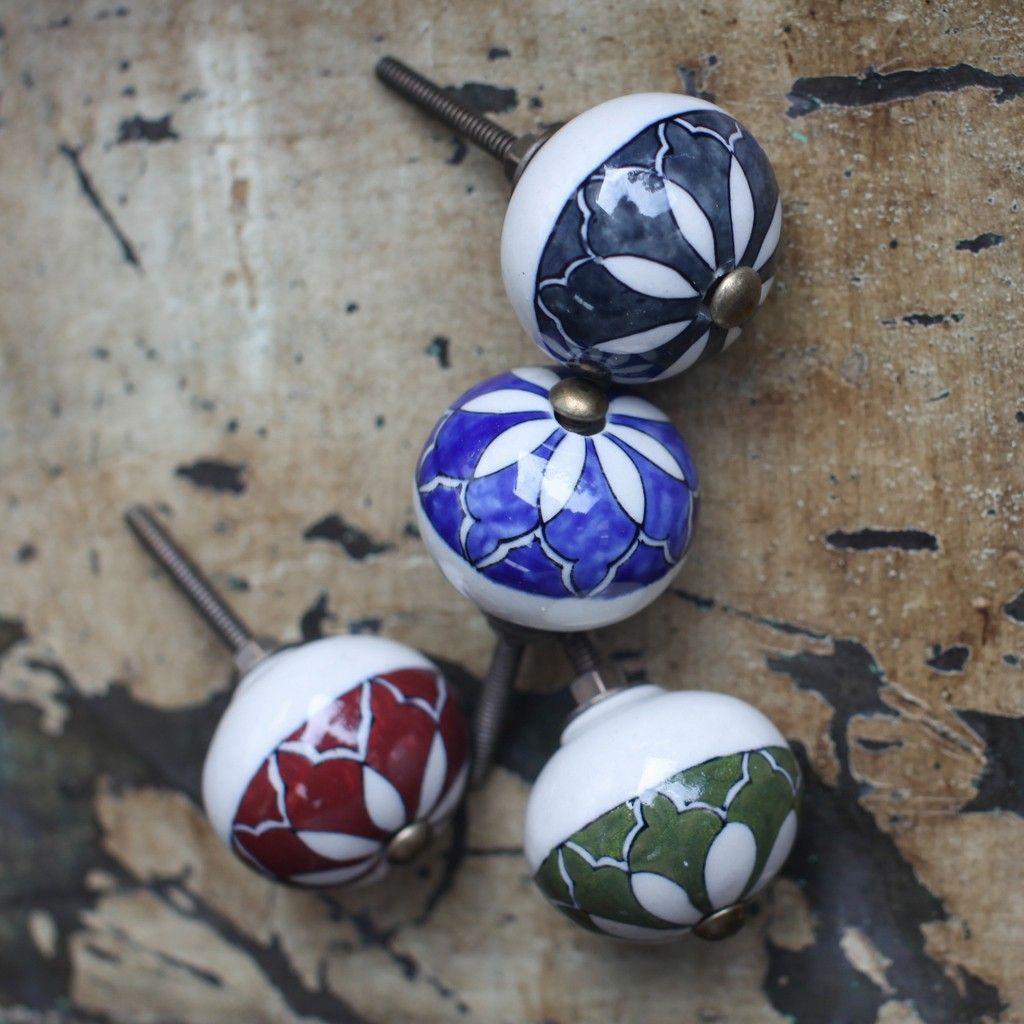 Ceramic Cabinet Knob - Suri   Pinterest