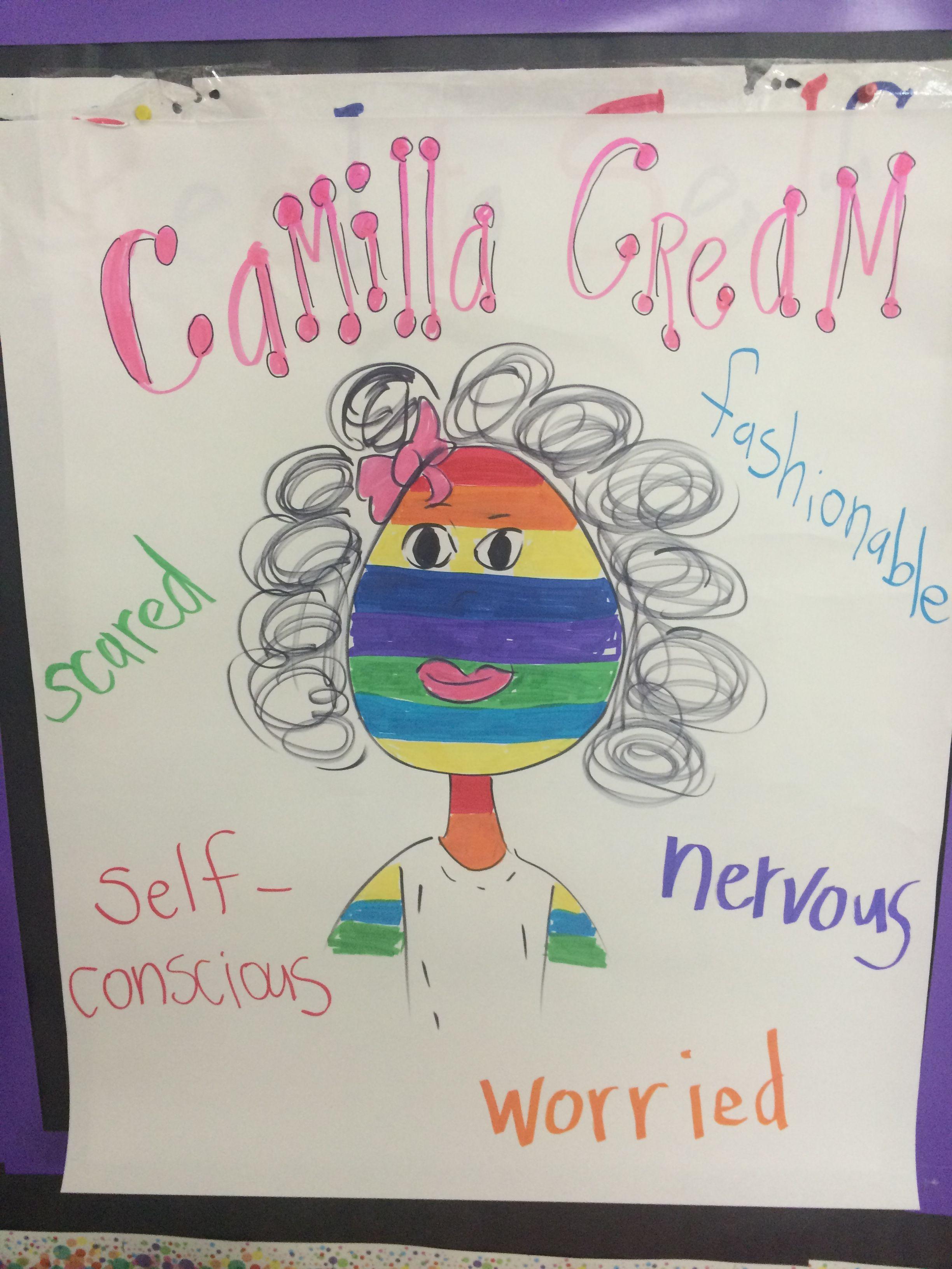 Camilla Cream Bad Case Of Stripes Main Character