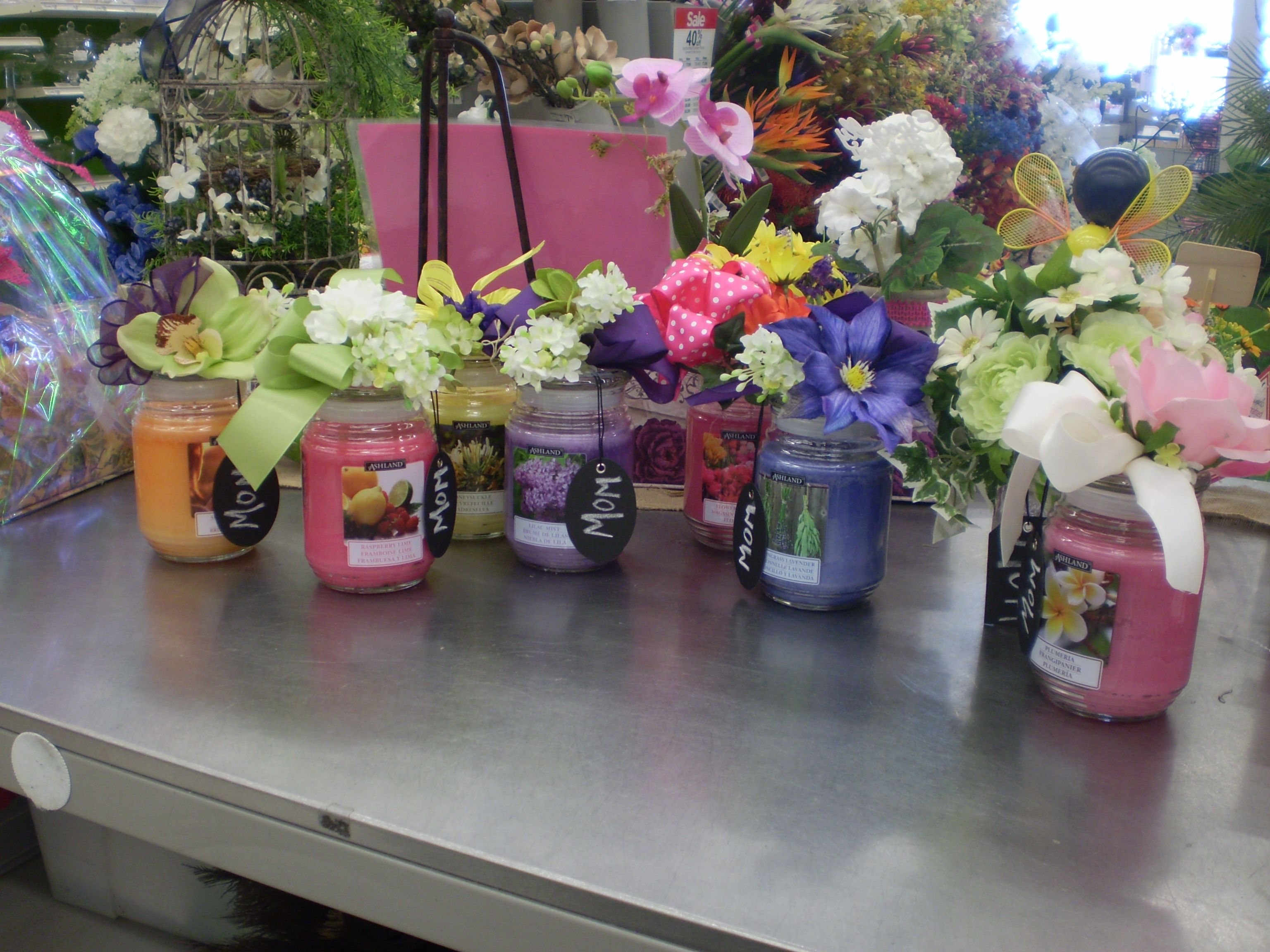 Mothers Day Candle gifts Sherrie Michaels NJ