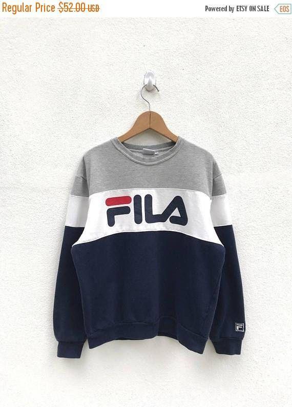 Sweatshirt/Fila   Fila outfit