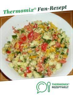 Paprika-Salat #griechischersalat