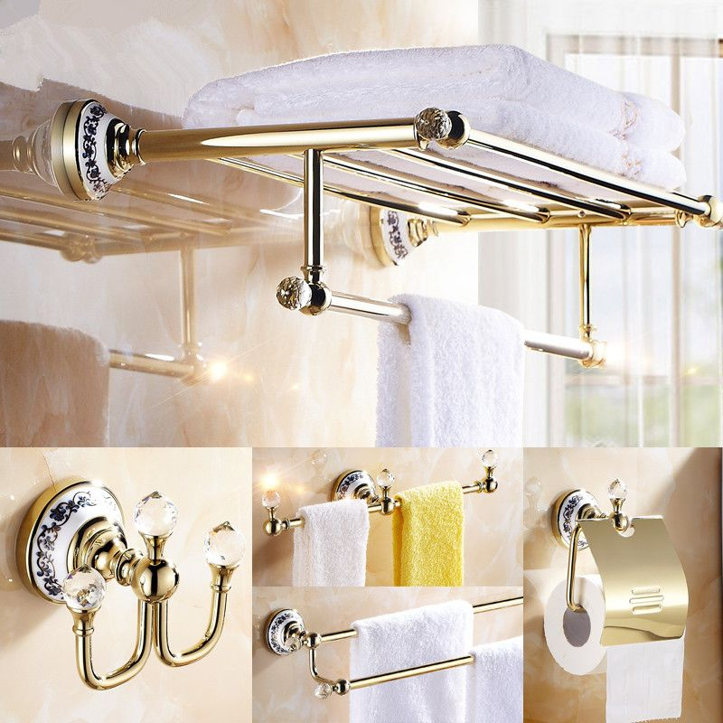 Home Improvement Mocc Hot And Nilver Tone Metal 6 Hooks Towel Handbag Rack Wall Hanger W Scr