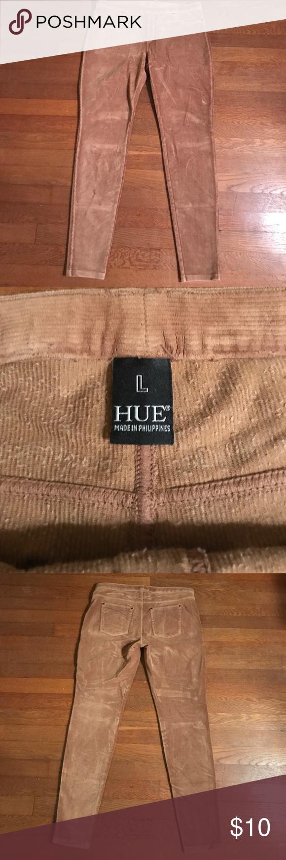 583aa72b2f697 Hue Corduroy Leggings Tan Hue Corduroy leggings. Comfy and perfect for  Fall! HUE Pants Leggings
