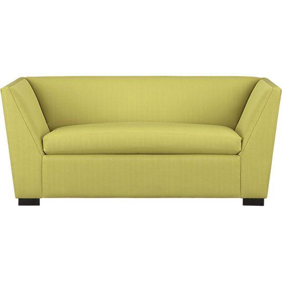 Modern Twin Sleeper Sofa: Julius Grass Twin Sleeper Sofa In Sofas