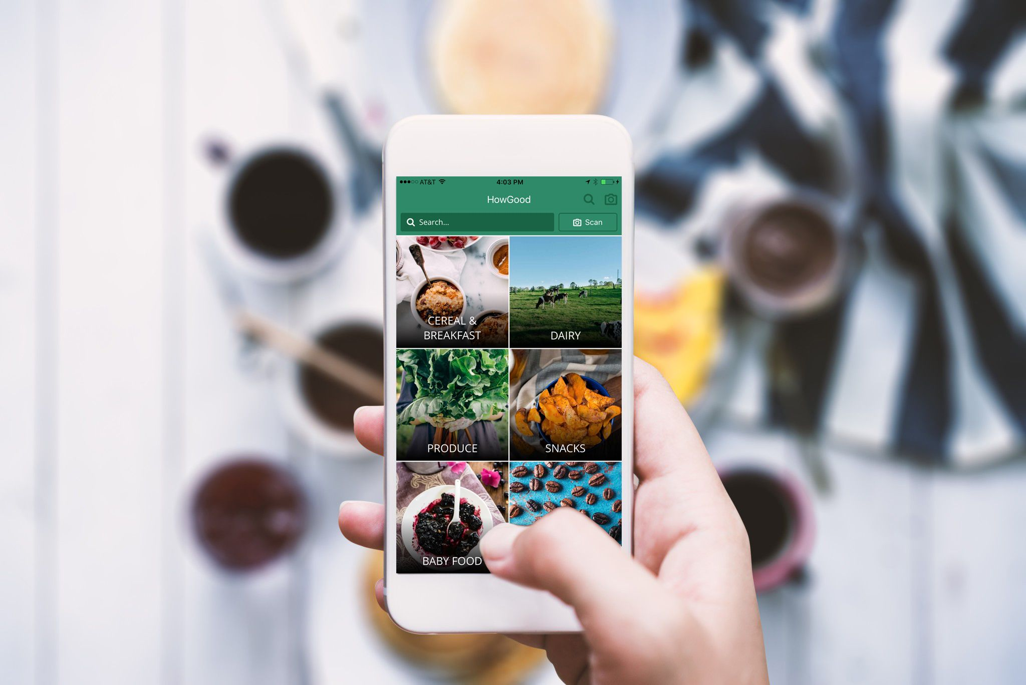 """Is it just greenwashing? """"HowGood's updated mobile app to"""
