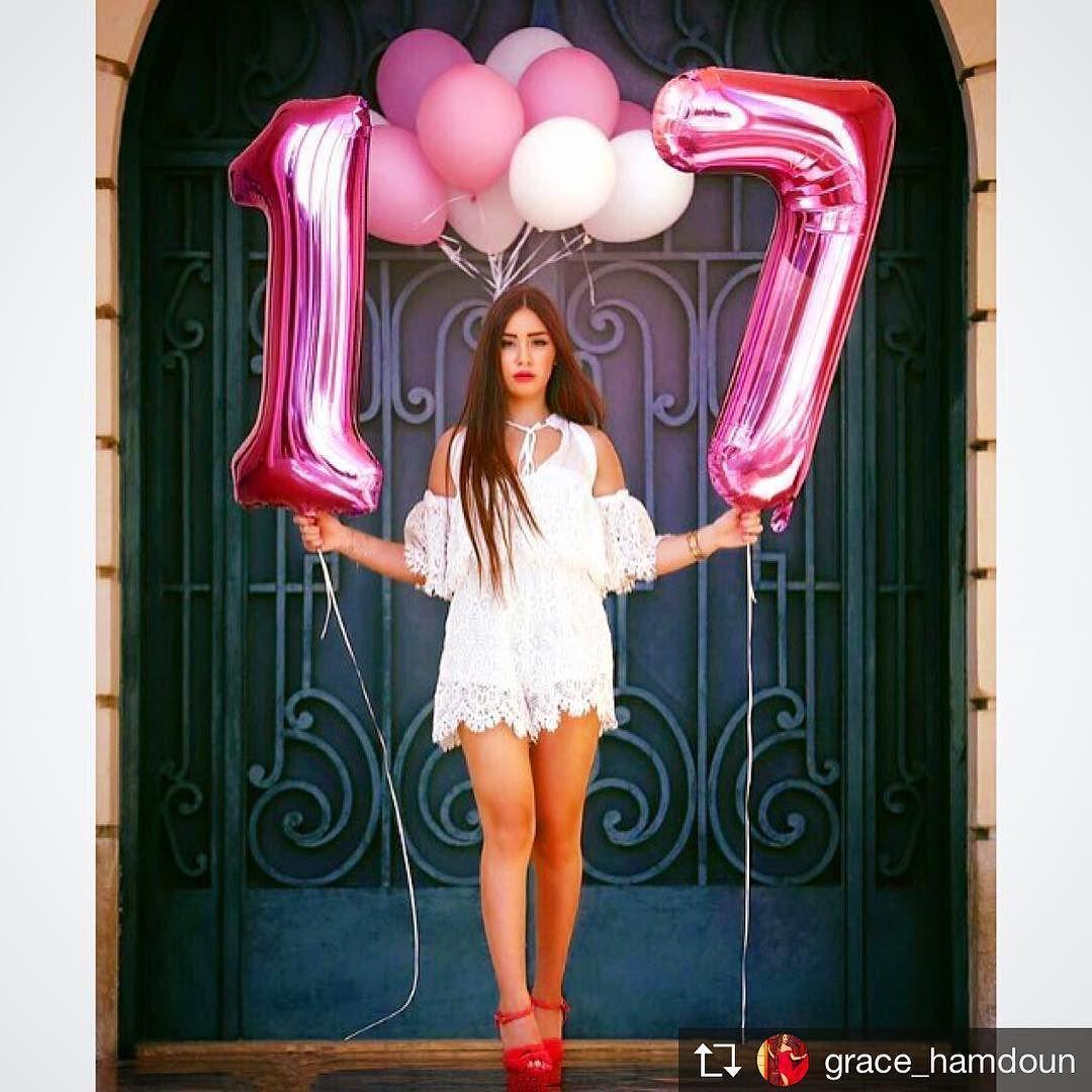 """La Rose on Instagram: """"She's Now 17 .. ���������. . #LaRoseBalloons #LaRoseEvents . ���������� #LaRose #Balloons #Number #17 #BirthdayGirl #Photoshoot #Lebanon…"""""""