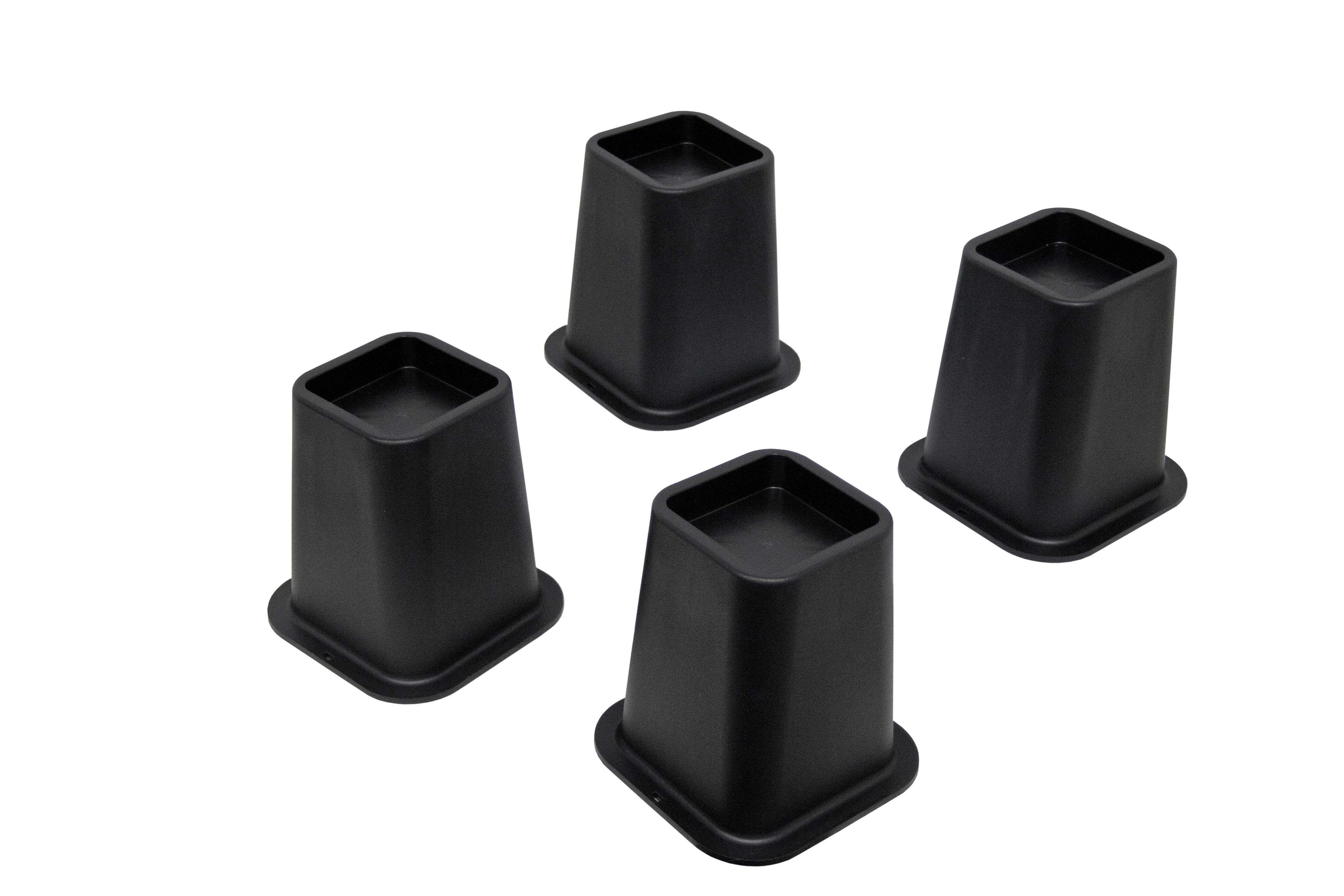 Best 5 Black Bed Risers For Furniture Beds Tables Chairs 400 x 300
