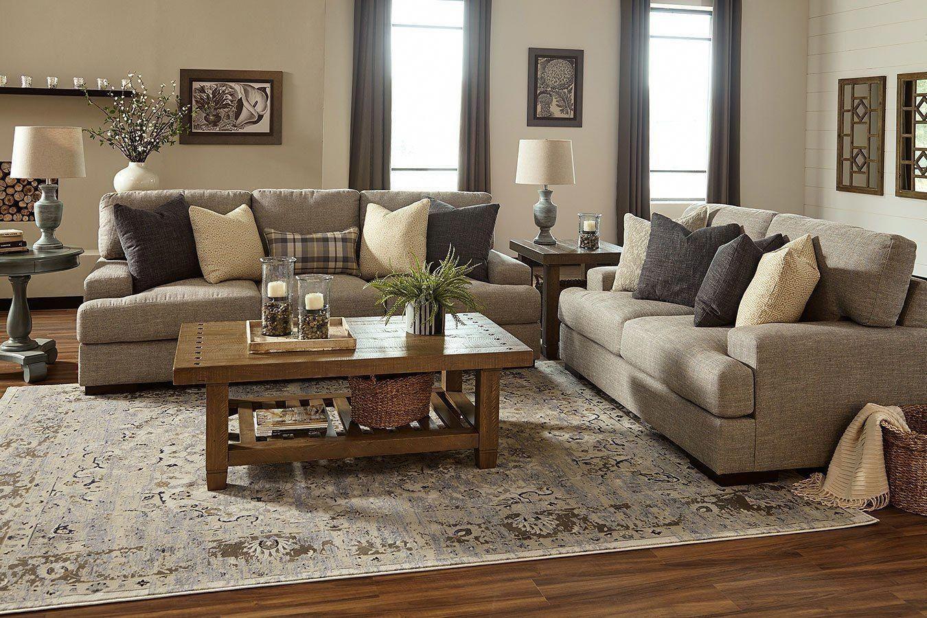 Austwell Lead Living Room Set Rustic Living Room Furniture Living Room Sets Farm House Living Room #rustic #living #room #furniture #set