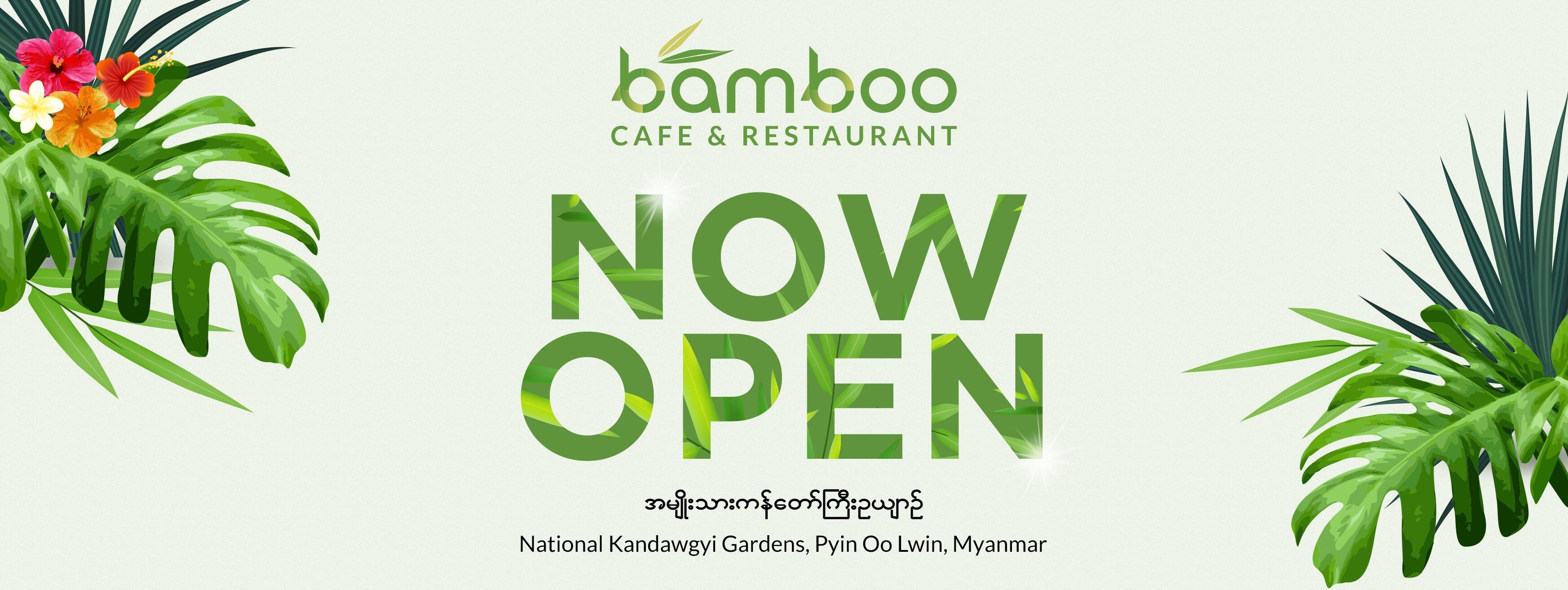 bamboo cafe & restaurant social advertising designdm seven