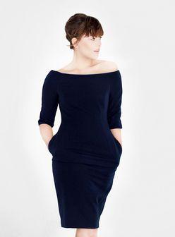 L.I.Z.Z.Y blue shift dress   Kleider, Outfit ...
