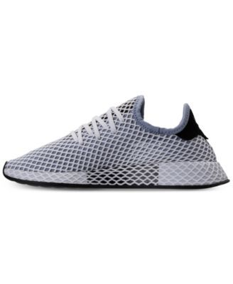 quality design 2073a 3c0fe adidas Women s Deerupt Runner Casual Sneakers from Finish Line - Blue 6.5