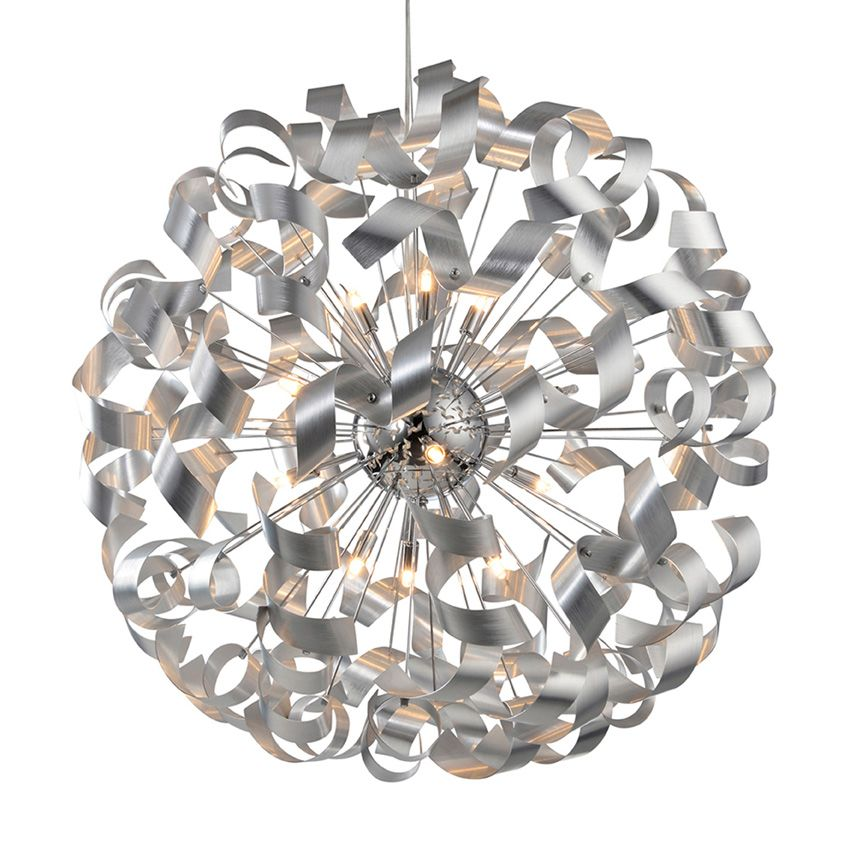 Laurie lumi re luminaire suspension boule xxl accumulation for Luminaire suspension boule