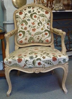 French Tapestry Upholstery Fabric French Furniture Antiques Miguel Meirelles Melbourne Australia Upholstered Chairs Large Armchair Furniture