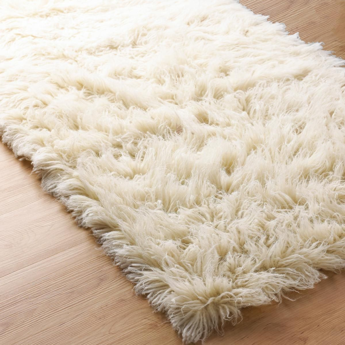 Superior Flokati Wool Rug With Images