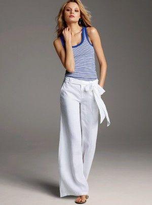 Siempre Guapa Con Norma Cano Pantalones De Lino Pantalones De Vestir Mujer Pantalon Lino Mujer
