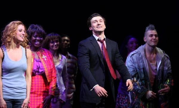 Photo Coverage Ghost The Musical Opening Night Curtain Call Opening Night Musicals Ghost