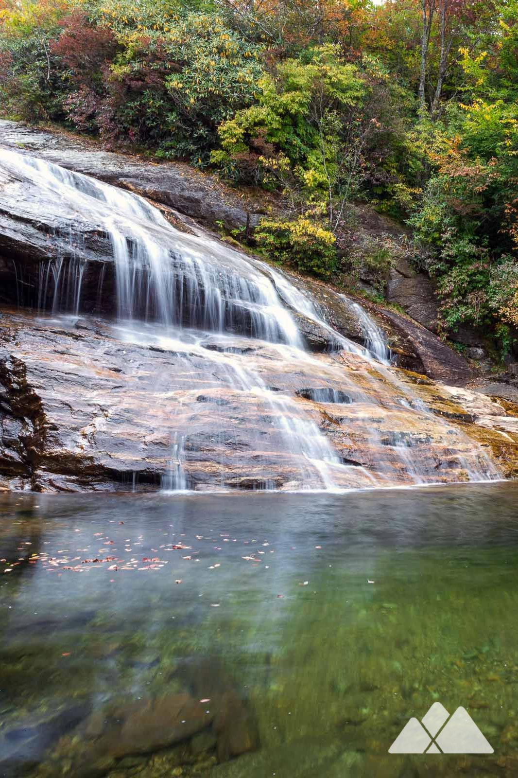 Graveyard Fields Waterfall, Waterfall trail, Waterfall hikes