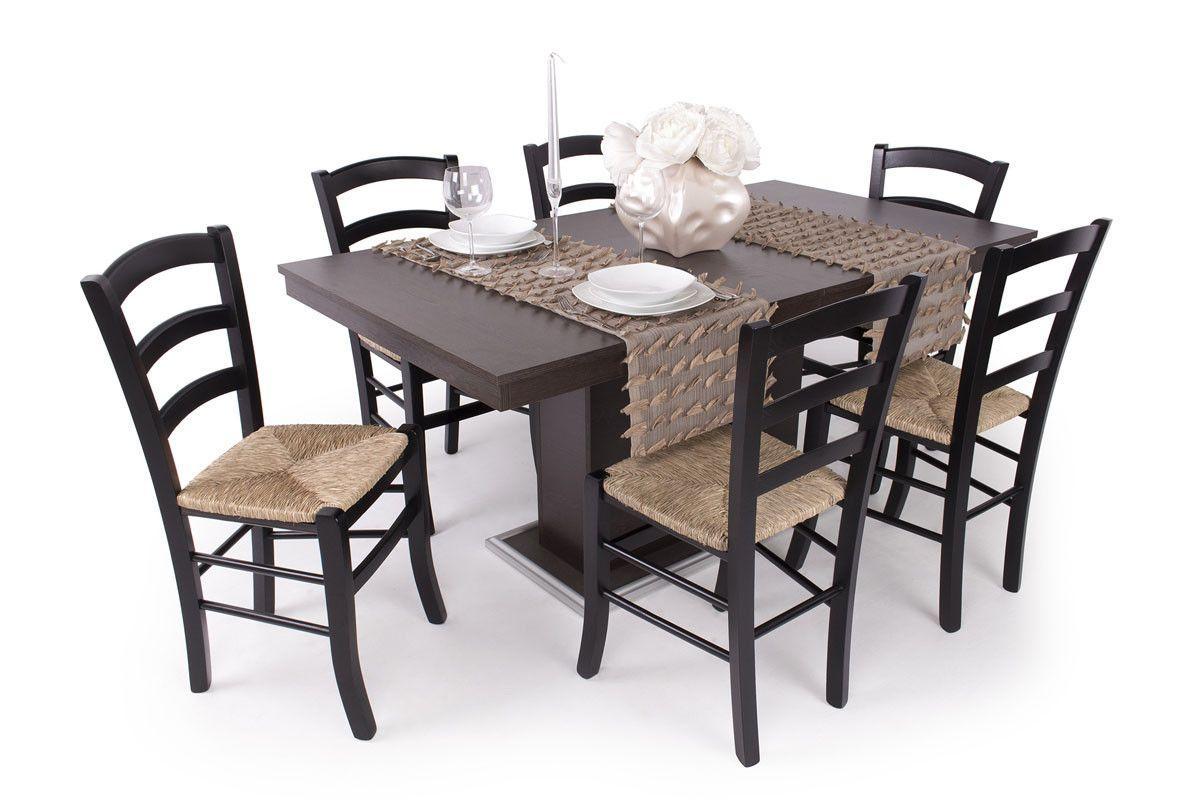 Alba étkező Flóra asztallal az eredeti Kültéri bútor