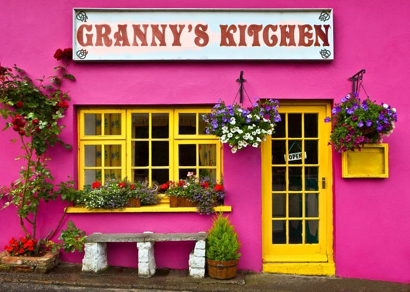 Granny\'s Kitchen ~ | In Living Color | Pinterest