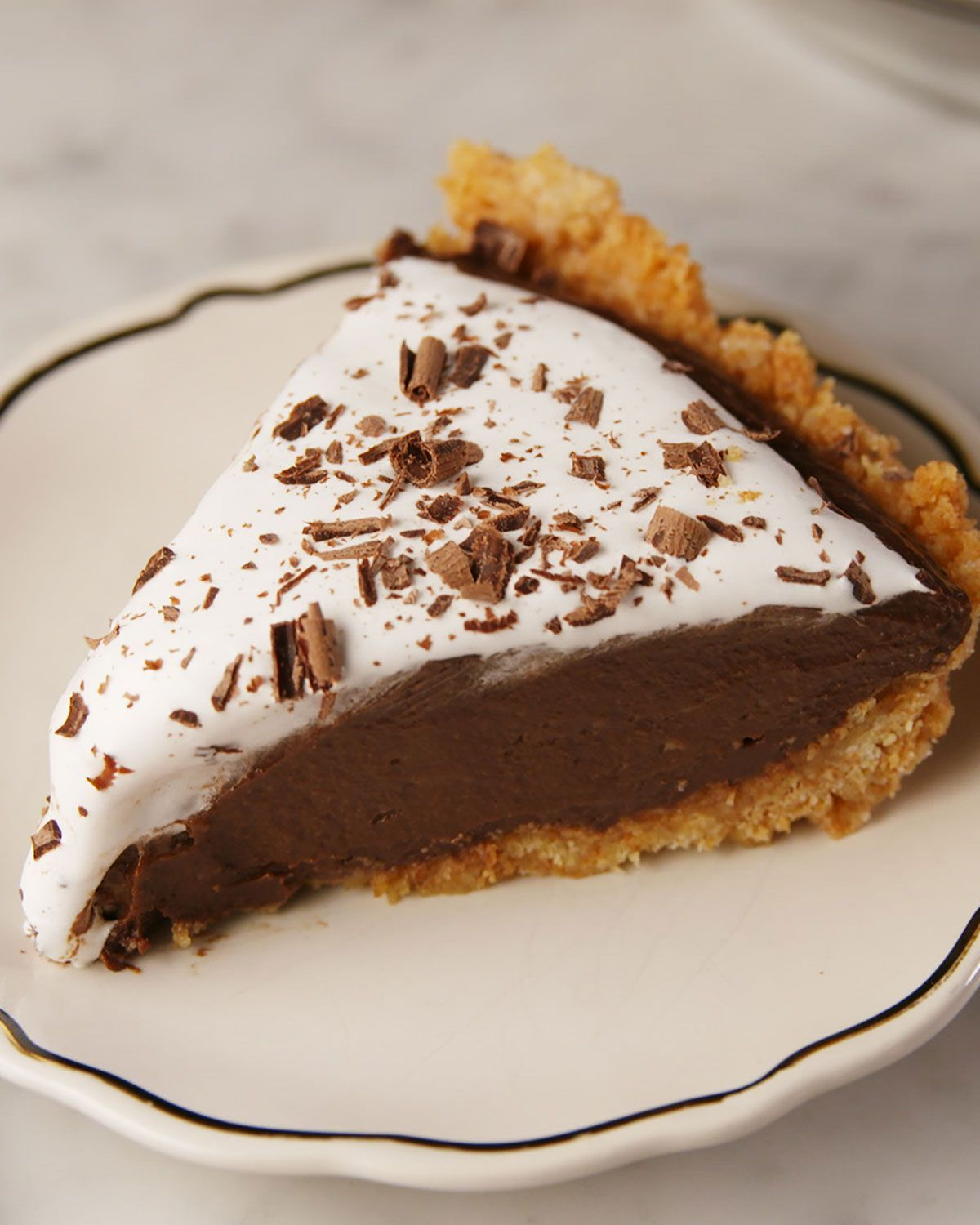 Mexican Hot Chocolate Pie Recipe Mexican Dessert Chocolate Pie Recipes Chocolate Pies