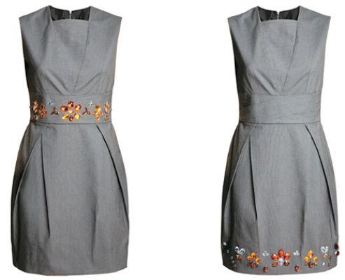 Como customizar vestidos de fiesta