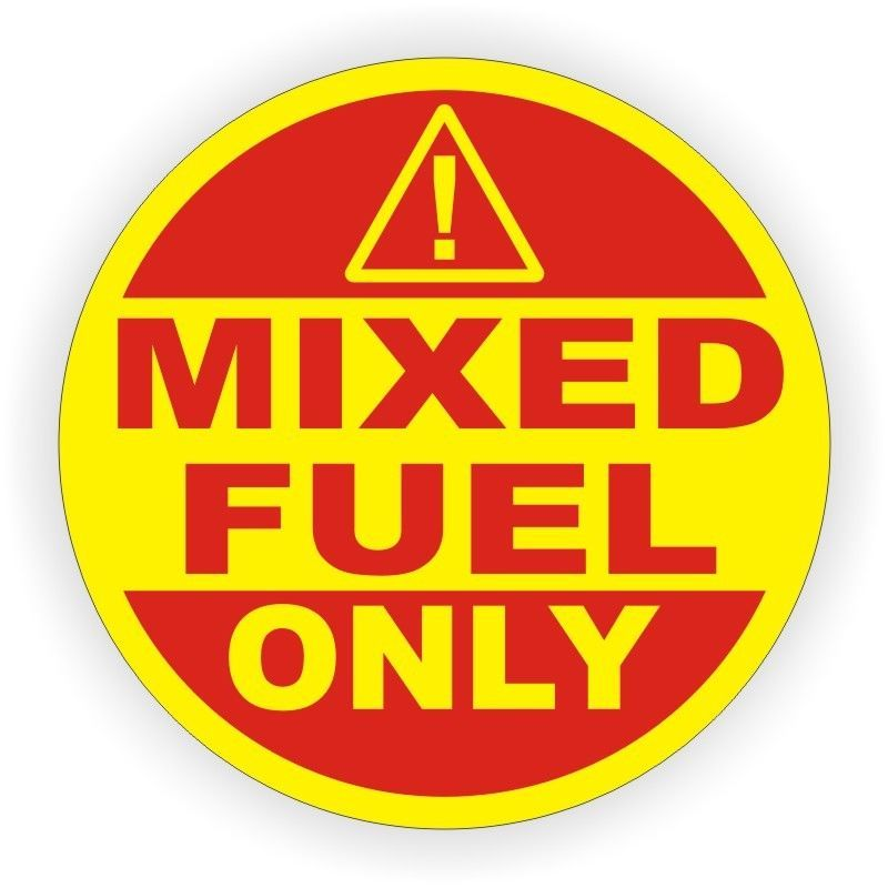 2 Inch Mixed Fuel Only Vinyl Decal Sticker Label Door Label Gasoline Can Tank Vinyl Sticker Labels Vinyl Decal Stickers Sticker Labels