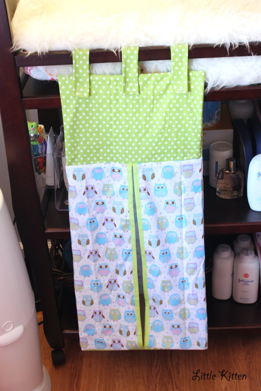 Diaper Stacker All Over Owls Ready To Ship By Shoplittlekitten 35 00 Diaper Stacker Diaper Stackers