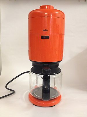 Braun Aromaster KF 20 Coffee Maker Vintage Dieter Rams Coffee maker, Dieter rams and Coffee