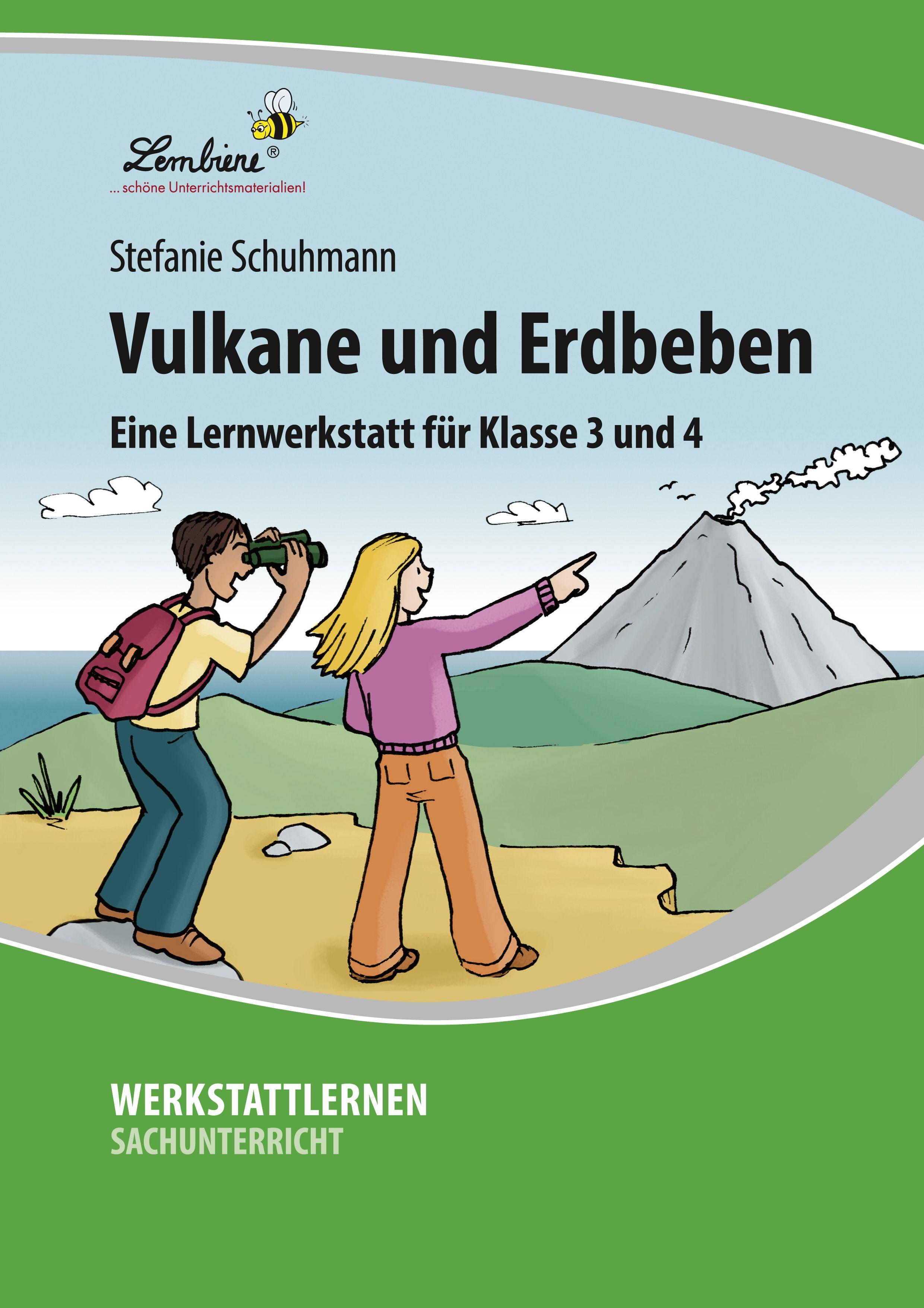 Vulkane und Erdbeben sind Naturgewalten, die nicht nur Erwachsene ...