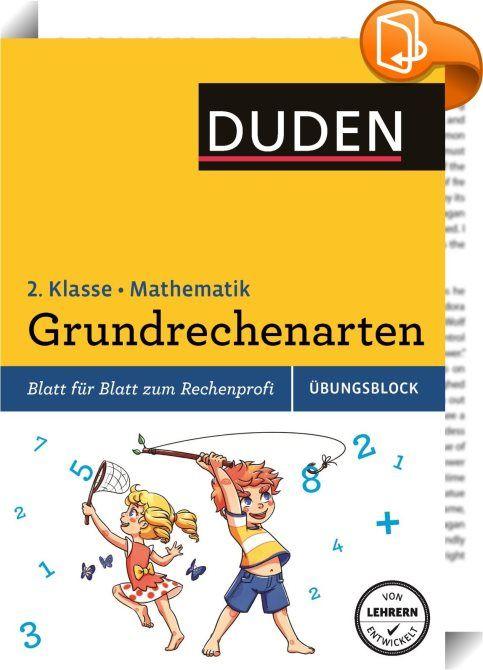 Übungsblock: Mathematik - Grundrechenarten 2. Klasse : Mit diesem ...